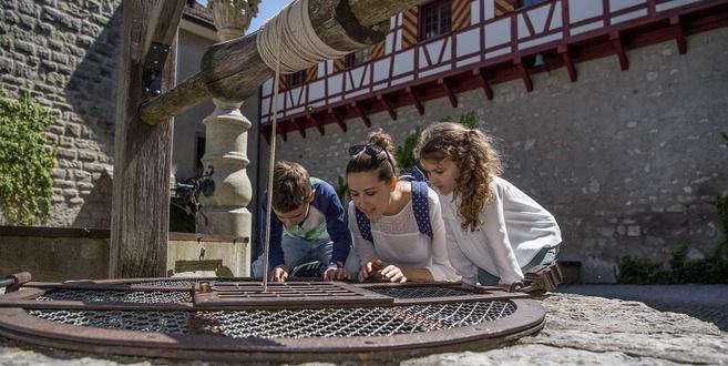 Schloss Kyburg Schlosshof