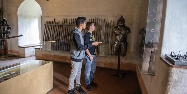Musuem Schloss Kyburg - Waffenkammer