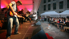 Rock concert in Vaduz