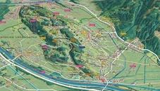 Panoramakarte Unterland
