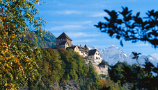 Goldener Herbst in Liechtenstein