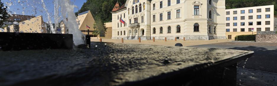 Gouvernment building in Vaduz