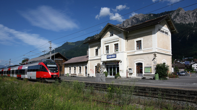 Train station Schaan