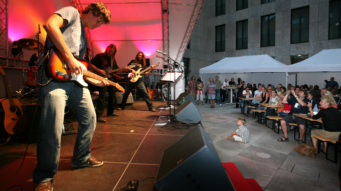 Music event in Vaduz