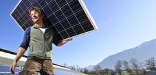 Dachdecker Sonnenkollektoren