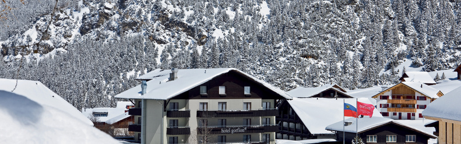 Hotel Gorfion in winter
