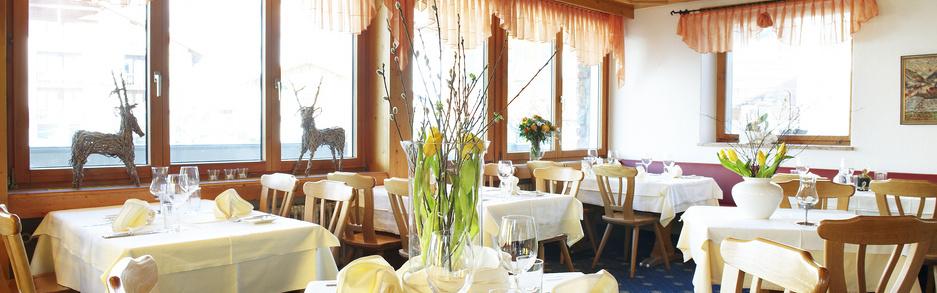 Hotel Turna Malbun restaurant