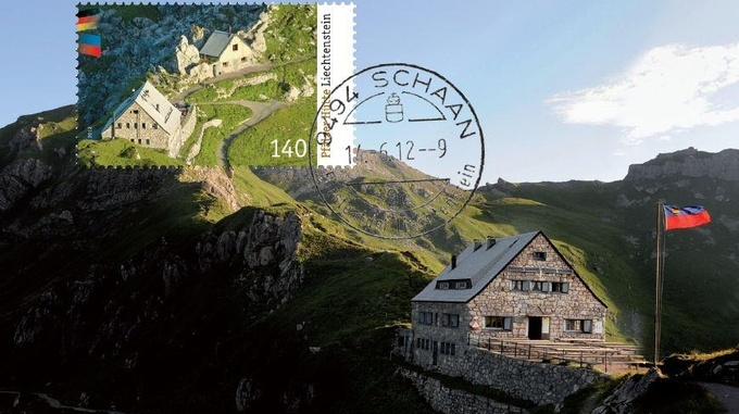 Pfälzerhütte Postage Stamp