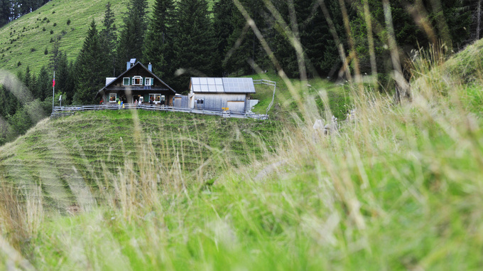 Gafadurahütte Planken