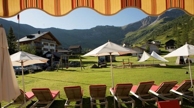 View from Hotel Gorfion Malbun
