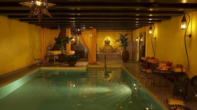 Park-Hotel Sonnenhof indoor pool
