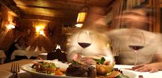 The Alpenhotel restaurant