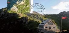 Pfälzerhütte Briefmarke