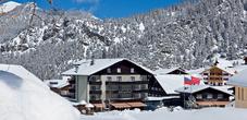 Hotel Gorfion in winter
