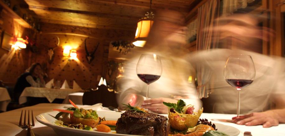 Hotel Alpenhotel restaurant