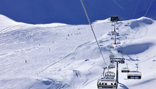 The resort of Malbun offers snow-sure slopes