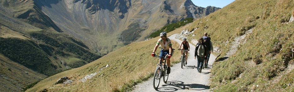 Mountainbike Pfälzerhütte