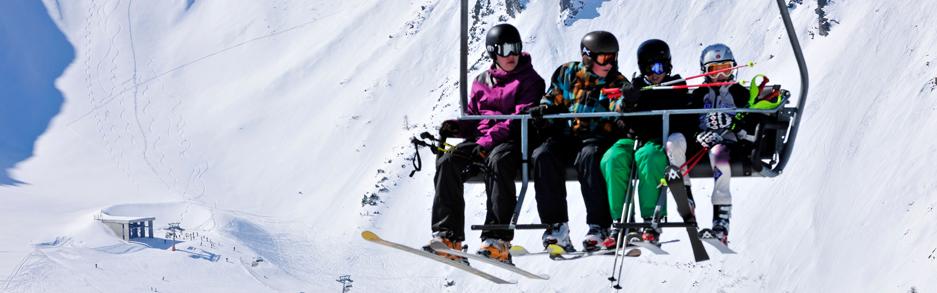 Malbun Schifahren