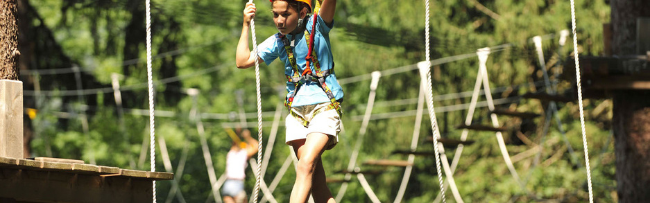 Forst high-rope adventure park