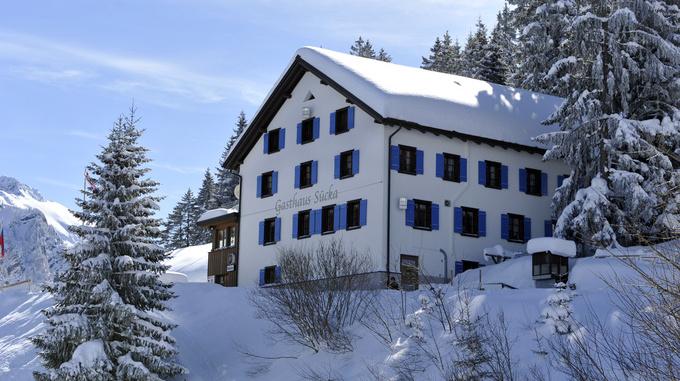 Berggasthof Sücka Winter