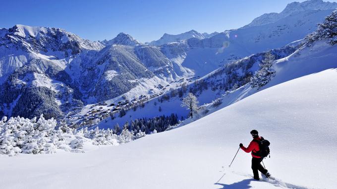 Schneeschuh Wandern Malbun