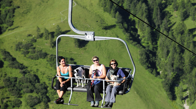 The Sareis chairlift in Malbun