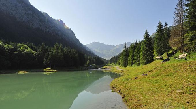 Gänglesee Lake Steg