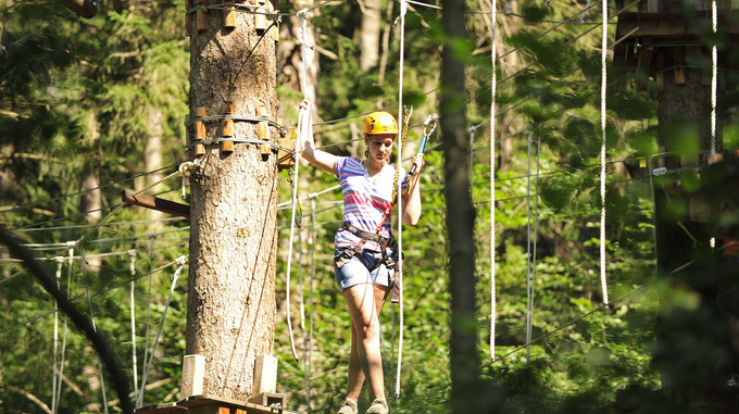 Forst high-rope adventure park