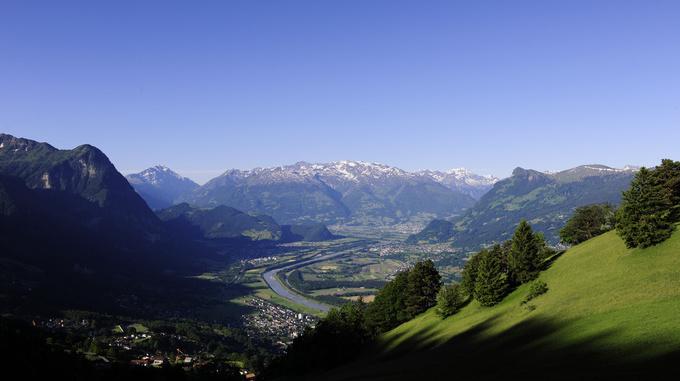 Wandergebiet Liechtenstein