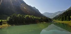 Gänglesee lake