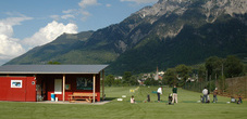 The driving range in Schaan