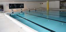 The indoor swimming pool in Balzers