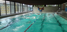 The indoor swimming pool in Triesen