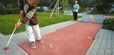Schaan/Vaduz minigolf course