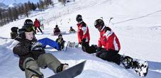 Die Schneesportschule Malbun