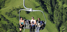 The Sareis chairlift