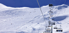 The Malbun ski area reaches 2000m altitude