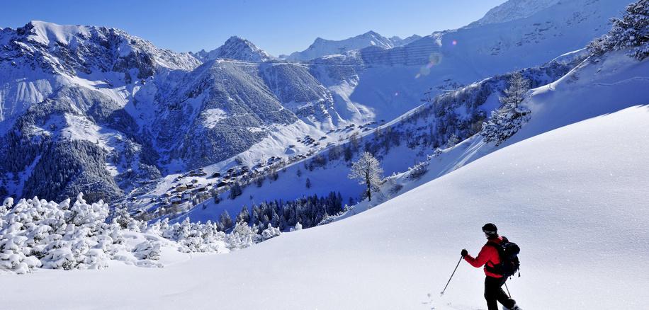 Snowshoe Hike Malbun