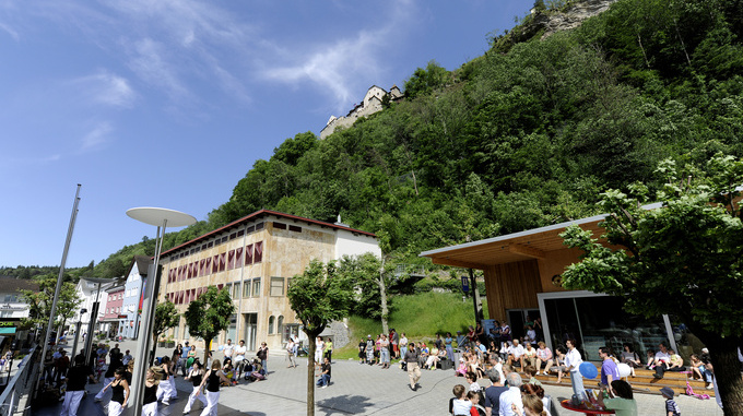 Städtle Vaduz Liechtenstein Center