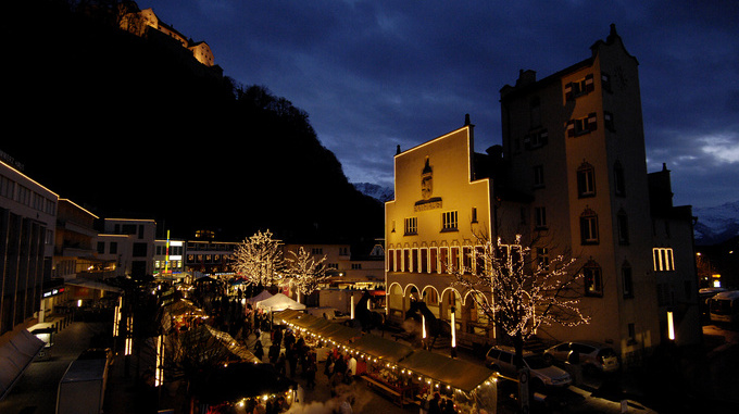Christmas Market Vaduz