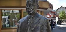 Fürst-Franz-Josef Skulptur Vaduz