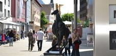 Grande Cavallo Sculpture Town Vaduz