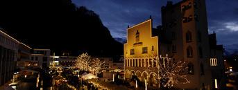 Der Weihnachtsmarkt im Städtle von Vaduz