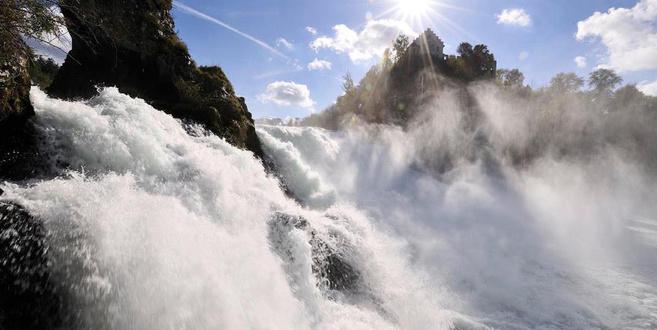 Rheinfall - 20min von Winterthur