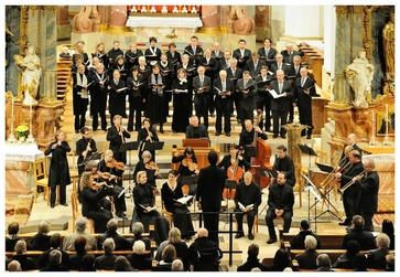 On Friday 27 December at 6.00 pm, the Bach Collegium Zürich will perform at Pfarrkirche Sankt Mauritius.
