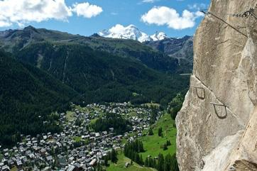 Mammut Fixed-Rope Route, Zermatt