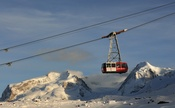 To the highest cable car station in Europe