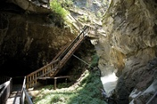 Gornerschlucht beim Weiler Blatten