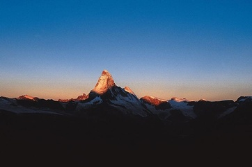 Sonnenaufgang am Matterhorn