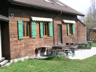 Holiday cabin for boy scouts, Yverdon-les-Bains